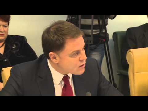 Обсуждение чернобыльских льгот в Совете Федерации РФ