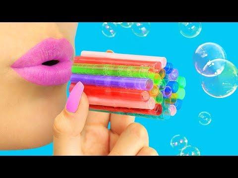 15 лайфхаков и рецептов мыльных пузырей