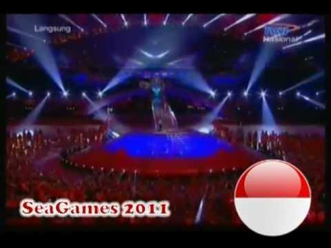 Agnes Monica, Afgan, Giring 'Nidji' - Wa E Wa E  O Kita Bisa @ Closing Ceremony Sea Games 2011
