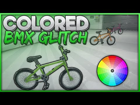 "GTA 5 Online - ""COLORED BMX Glitch"" 1.43 (How to Get Any Color BMX in GTA 5 Online)"