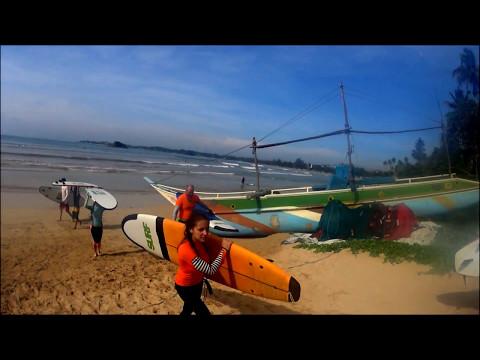 Sri Lanka travel   GoPro   Diving, surfing, beach, NYE   2017