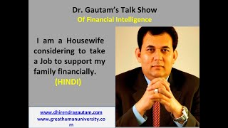 Housewife considering to take job to support family financially | The Money Show | Budgeting