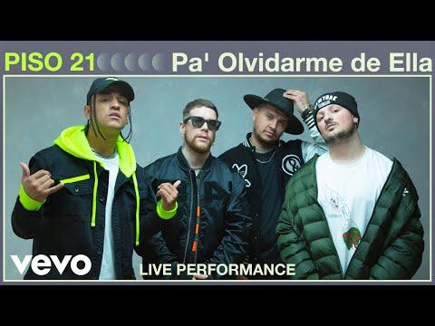 Смотреть клип Piso 21 - Pa Olvidarme De Ella