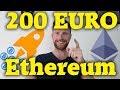 Ethereum bei über 200 EUR! Bald bei 1.000 EUR? Mehr als 250% plus mit GROSSE FREIHEIT TV