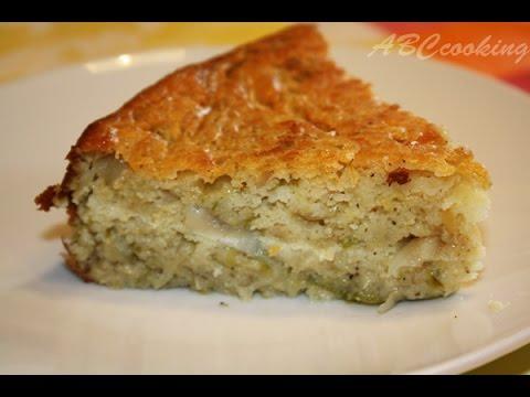 Тесто для заливного пирога на