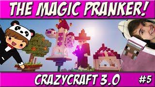 The Magic Pranker! | Ep. 5 | CrazyCraft 3.0