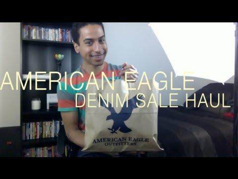 AMERICAN EAGLE DENIM SALE HAUL!!!