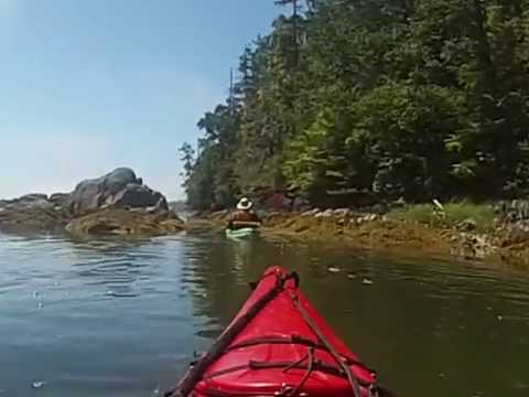 Kayaking  Jarvis & Jaques Island Lagoon-The Broken Group