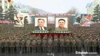 Mass rallies held backing Kim Jong-un
