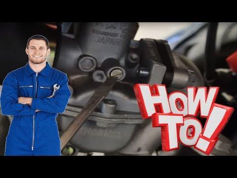 How to Adjust Snowmobile Carburetor