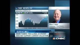 Marc Faber: Global Economy Doesn't Support Market Valuations