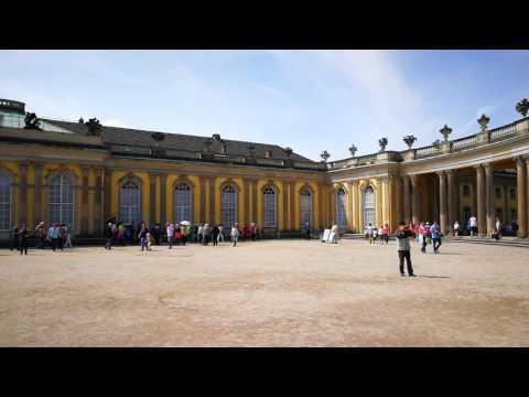Sanssouci Haupteingang