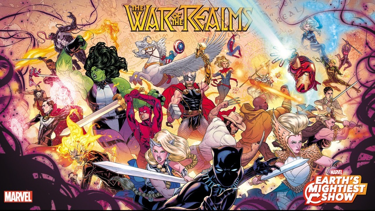 The War of the Realms Reading Order Checklist « How To Love Comics