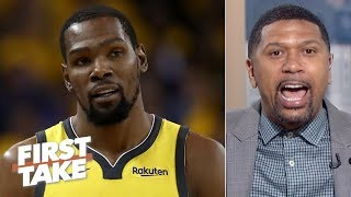 KD prioritizing free agency over the Finals would start an \'avalanche\' - Jalen Rose | First Take