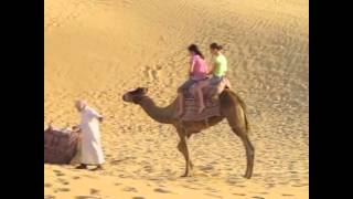 Camel Riding Desert Safari, Abu Dhabi.avi