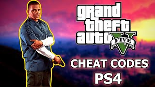 ALL GTA 5 CHEATS & CODES - PS4