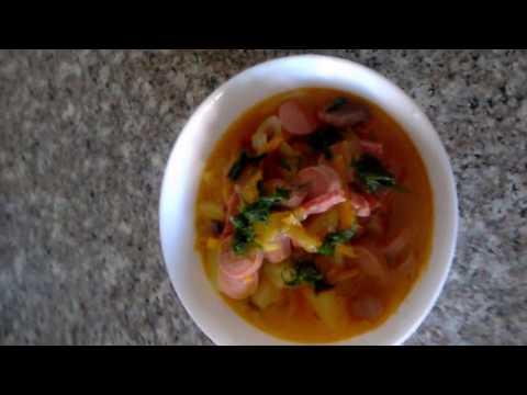 Солянка с колбасой кулинарный рецепт