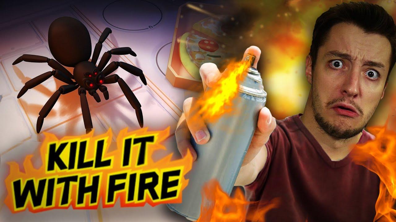ΑΝ ΜΙΣΕΙΣ ΤΙΣ ΑΡΑΧΝΕΣ ΘΑ ΣΟΥ ΑΡΕΣΕΙ ΑΥΤΟ ΤΟ ΒΙΝΤΕΟ! | Kill it with Fire