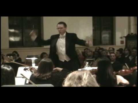 "Grant Gilman Conducts Barber ""Adagio"""