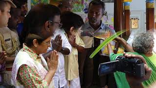 Dr. Kiran Bedi Pongal celebration at Alankuppam revenue villagers - 2017