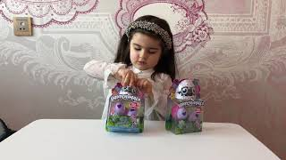 Opening Hatchimals CollEGGtibles . Mini surprise egg collection. Kids video.