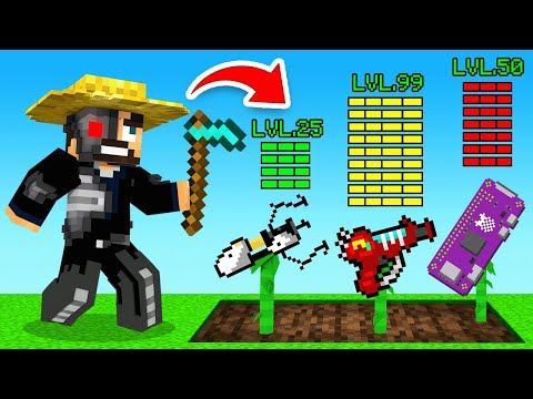 HOW To build a ROBOT Farm in Minecraft (Sky Factory)