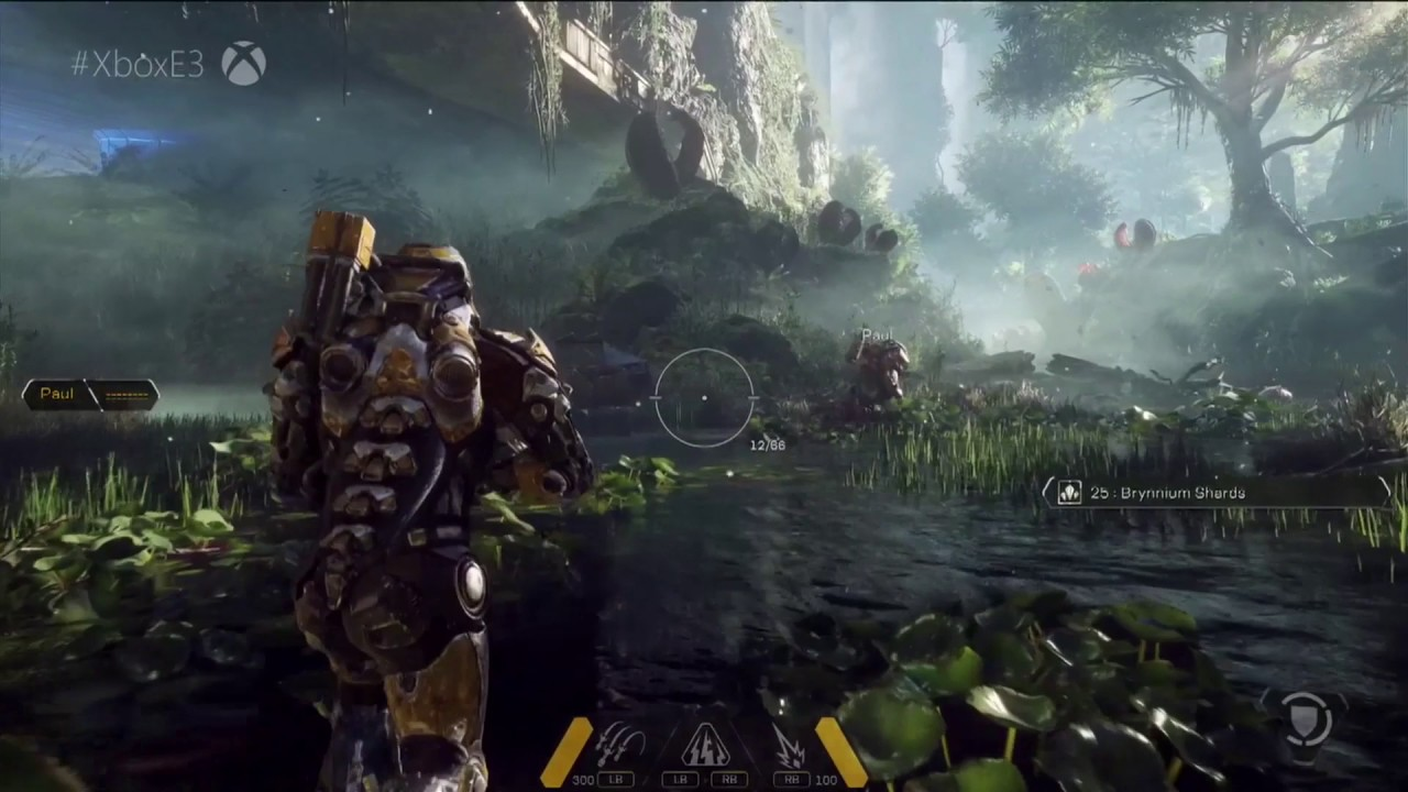 Titan Fall 2 Hd Wallpaper Anthem Gameplay From E3 2017 New Bioware Game On Xbox