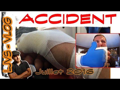 vlog juillet 2016 - Accident pouce coupé  remerciement et blabla - LJVS