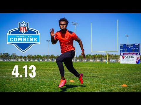 I BROKE THE FASTEST 40 YARD DASH RECORD AT MY OWN NFL COMBINE!