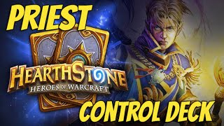 HearthStone - Priest Control Deck TGT (The Grand Tournament)