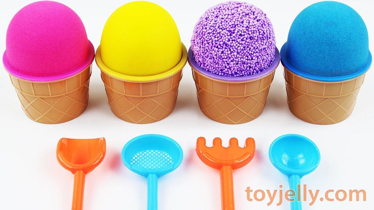 Plastic Kinetic Sand Spoon