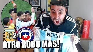 Argentina Vs Chile | Copa América Brasil 2019 | Reacción de un hincha
