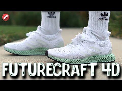 Adidas Futurecraft 4D First Impressions! 3D Printed Midsole!