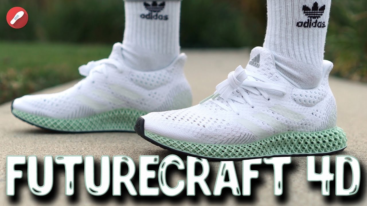 Adidas Futurecraft 4D First Impressions! 3D Printed Midsole! The Sole  Brothers 80f4a0f64