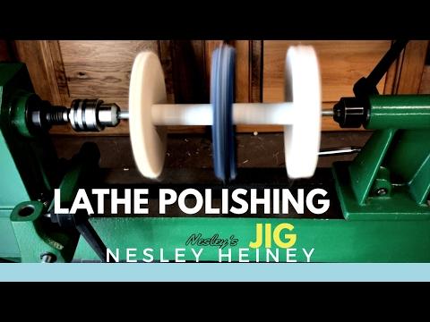 Inexpensive Polishing Jig For The Lathe