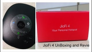 Reliance JioFi 4 Jio 4G Wirless Router & Hotspot Unboxing & Review !!