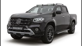 BRABUS refines the Mercedes X-Class - BRABUS D4 PowerXtra for X 250d