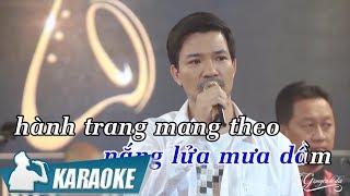 Karaoke Chuyện Tình Tôi - Bùi Kiên Tone Nam | Nhạc Vàng Bolero Karaoke