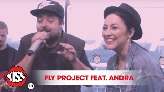 Fly Project feat. Andra - Butterfly (live @Kiss FM)