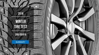 2018 Winter Tire Test Results | 205/55 R16  Studded