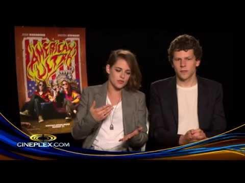 Kristen Stewart and Jesse Eisenberg on American Ultra - Cineplex Interview