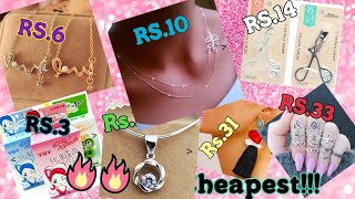 #sellatcost #sellatcosthaul |Sell at cost jewellery and Beauty Products| Wow products 😍