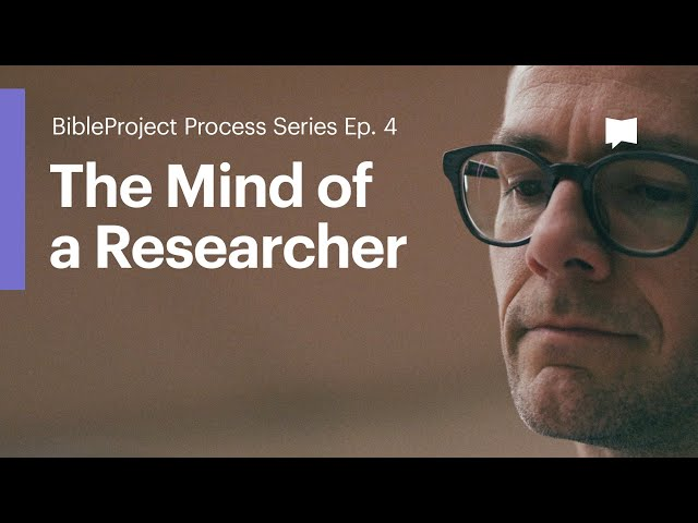 The Mind of a Researcher: Process Series