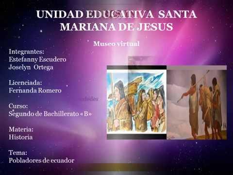 Primeros Pobladores del Ecuador