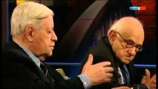 bitte anhören / Altkanzler Schmidt über Israel und Deutschland !