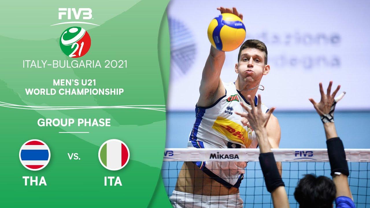 Download LIVE 🔴 THA vs. ITA - Pre-Round | Men's U21 Volleyball World Champs 2021