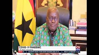 President Akufo-Addo's third address to the nation on the coronavirus outbreak