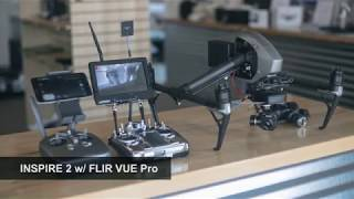 Inspire 2 with Gimballed FLIR VUE Pro