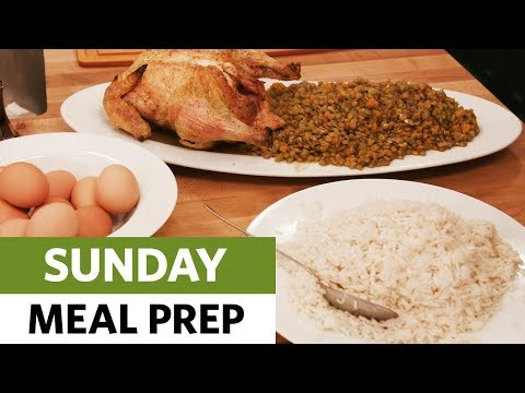 """Sunday Meal Prep -- Don't Eat """"It"""" Out Of A Box"""