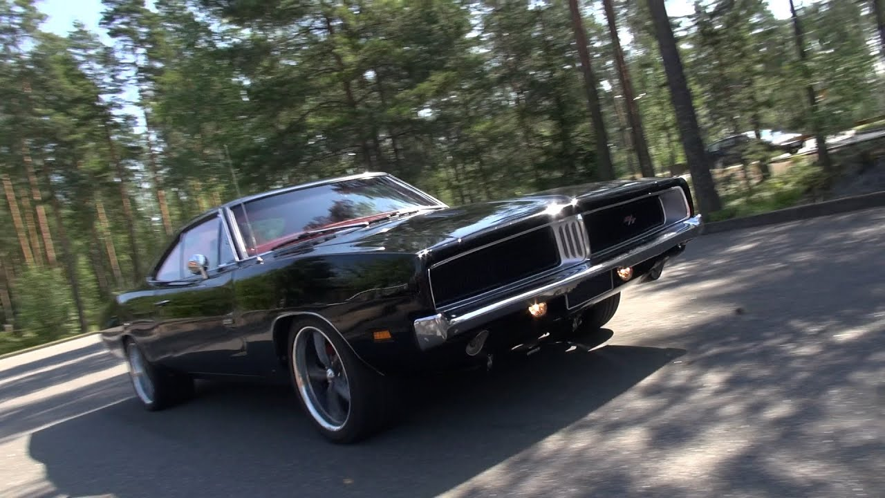 Muscle Cars Wallpapers 1080p Loud 1969 Dodge Charger R T Amazing V8 Sound Youtube